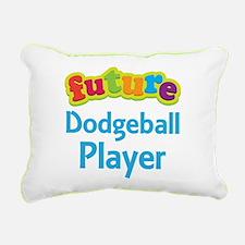 Future Dodgeball Player Rectangular Canvas Pillow