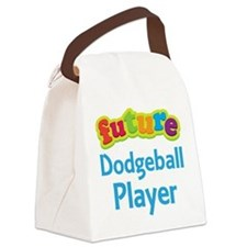 Future Dodgeball Player Canvas Lunch Bag