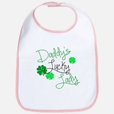 Daddys Lucky Lady Bib