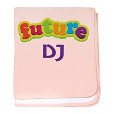 Future DJ baby blanket