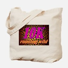 ANIMAL PRINT FOR RUNNERS -10K LEOPARD Tote Bag