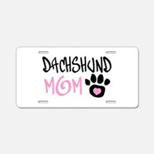 Cute Mom humor Aluminum License Plate