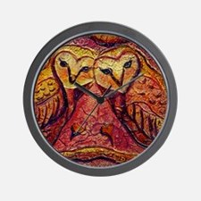 Owl Be Yours Wall Clock