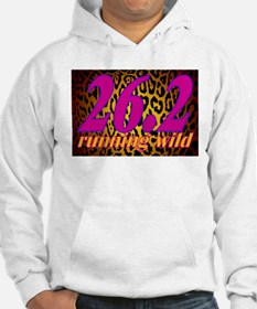 ANIMAL PRINT FOR RUNNERS – 26.2 LEOPARD Hoodie