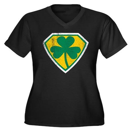 Irish Superhero Plus Size T-Shirt