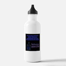 Let Us Read - Voltaire Water Bottle