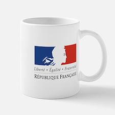 REPUBLIQUE FRANCAIS Small Mug