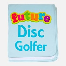 Future Disc Golfer baby blanket