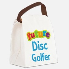 Future Disc Golfer Canvas Lunch Bag