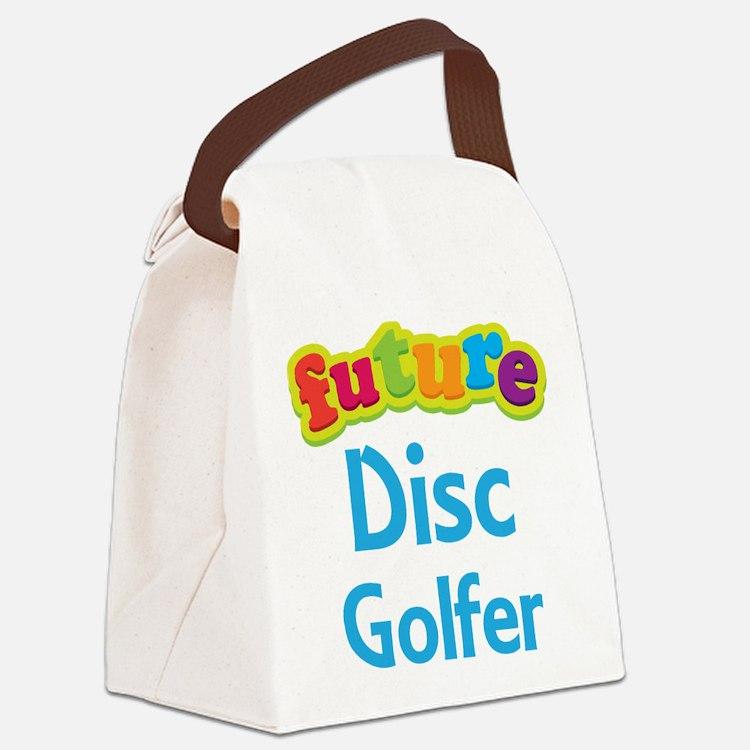 Future Disc Golfer Canvas Lunch Bag