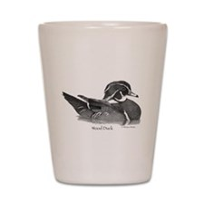Wood Duck Shot Glass