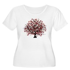 Blossoms Plus Size T-Shirt
