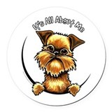 Brussels griffon Round Car Magnets