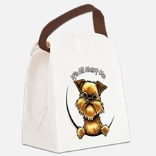Brussels Griffon IAAM Canvas Lunch Bag