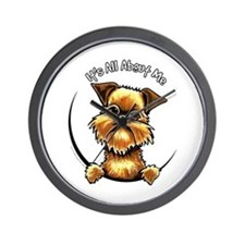 Brussels Griffon IAAM Wall Clock