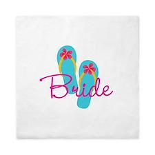 Flip Flop Bride Queen Duvet