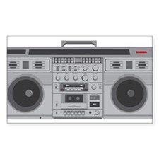 Boom Box Decal