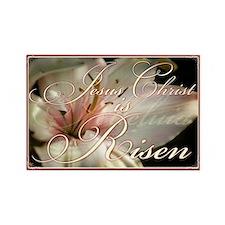 Christ is Risen Rectangle Magnet