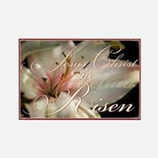 Christ is Risen Rectangle Magnet