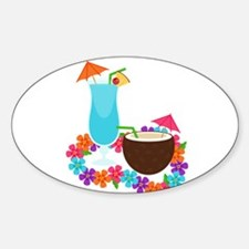 Tropical Drinks Decal