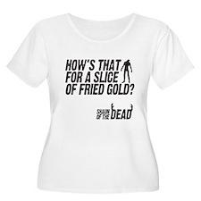 fried gold Plus Size T-Shirt