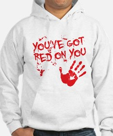 red on you Hoodie