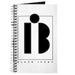 Black Ivory logo in black Journal