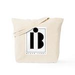 Black Ivory logo in black Tote Bag