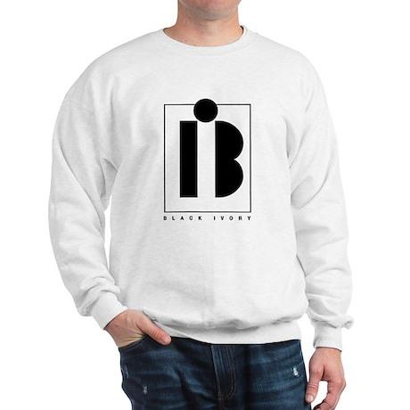 Black Ivory logo in black Sweatshirt