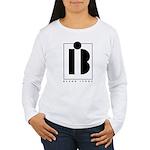 Black Ivory logo in black Long Sleeve T-Shirt