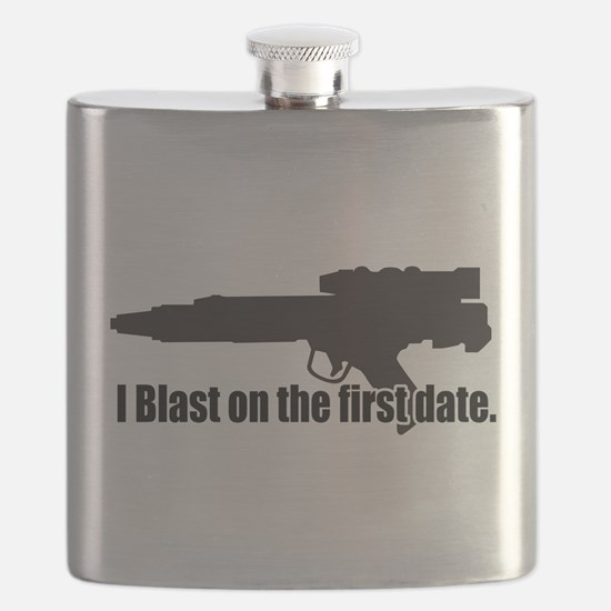 I Blast on the first date. Flask