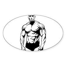 Body Builder Decal