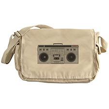 Boom Box Messenger Bag