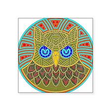Vintage Owl Mandala Sticker