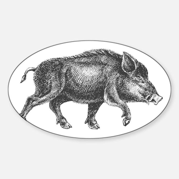 Wild Boar Decal