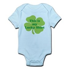 This is my Lucky Shirt St Patricks Day Shamrock Bo