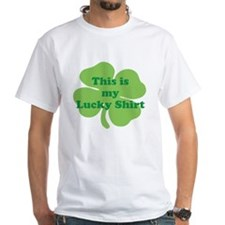 This is my Lucky Shirt St Patricks Day Shamrock T-