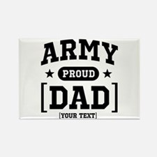 Army Mom/Dad/Sis/Bro Rectangle Magnet