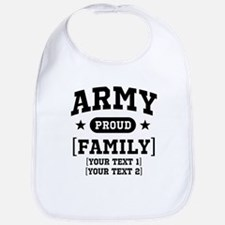 Army Sister/Brother/Cousin Bib