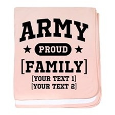 Army Sister/Brother/Cousin baby blanket