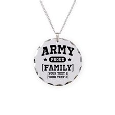 Army Sister/Brother/Cousin Necklace
