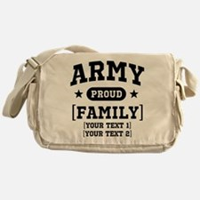 Army Sister/Brother/Cousin Messenger Bag