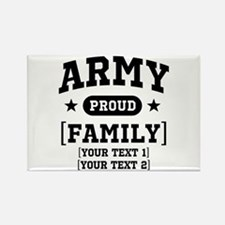 Army Sister/Brother/Cousin Rectangle Magnet
