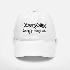 Sexy: Gwendolyn Baseball Baseball Cap