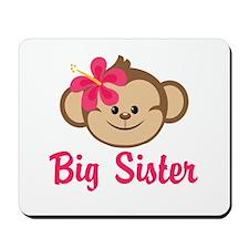 Big Sister Monkey Girl Mousepad