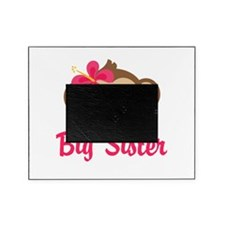 Big Sister Monkey Girl Picture Frame