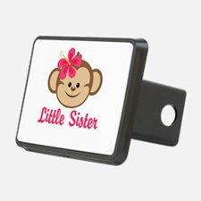 Little Sister Monkey Girl Hitch Cover
