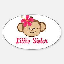 Little Sister Monkey Girl Decal