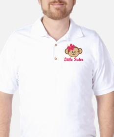 Little Sister Monkey Girl T-Shirt