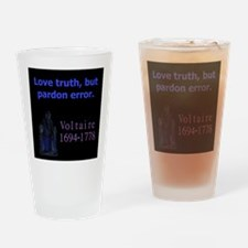 Love Truth - Voltaire Drinking Glass